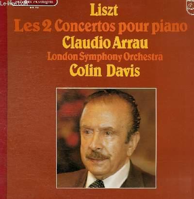 DISQUE VINYLE 33T CONCERTO POUR PIANO N°1 ET N°2.