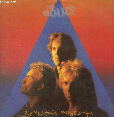 DISQUE VINYLE 33T DON'T STAND SO CLOSE TO ME, DRIVEN TO TEARS, WHEN THE WORLD IS RUNNING DOWN, YOU MAKE THE BEST OF WHAT'S STILL AROUND, CANARY IN A COALMINE, VOICES INSIDE MY HEAD,BOMBS AWAY,DE DO DO DO, DE DA DA DA, BEHIND MY CAMEL, MAN IN A SUITCASE...