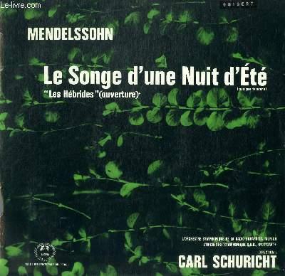 DISQUE VINYLE 33T LE SONGE D'UNE NUIT D'ETE