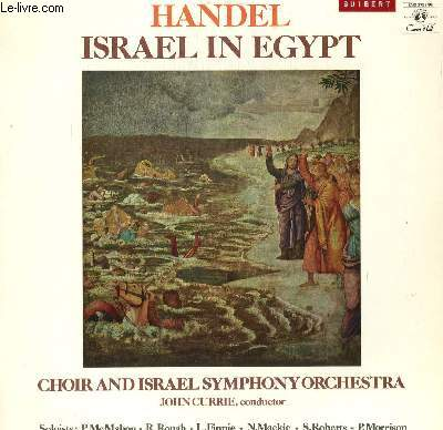 DISQUE VINYLE 33T ISRAEL IN EGYPT.