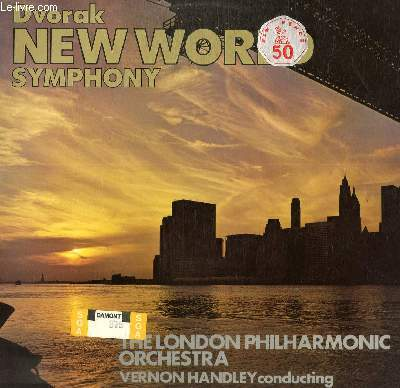 DISQUE VINYLE 33T SYMPHONY NO.9 IN E MINOR.