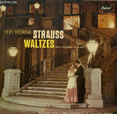 DISQUE VINYLE 33T WALTZES NEXKLY RECORDED IN VIENNA.