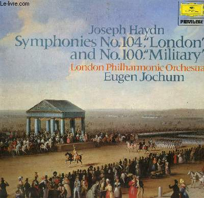 DISQUE VINYLE 33T SYMPHONY NO. 104 IN D MAJOR