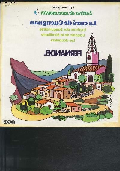 DISQUE VINYLE 33T LE CURE DE CUCUGNAN, LA PHARE DES SANGUINAIRES, L'AGONIE DE LA SEMILLANTE, LES DOUANIERS.