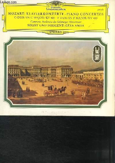 DISQUE VINYLE 33T KLAVIERKONZERTE, PIANO CONCERTOS.