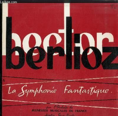 DISQUE VINYLE 33T LA SYMPHONIE FANTASTIQUE- PAR L'ORCHESTRE DES JEUNESSES MUSICALES DE FRANCE-DIRECTION SERGE BAUDO