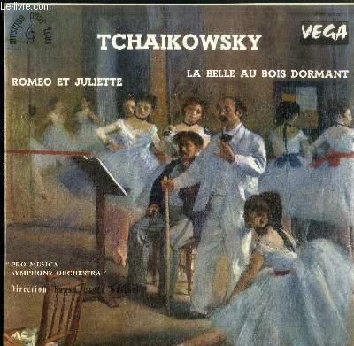 DISQUE VINYLE 33T ROMEO ET JULIETTE-LA BELLE AU BOIS DORMANT-PRO MUSICA SYMPHONIE ORCHESTRA