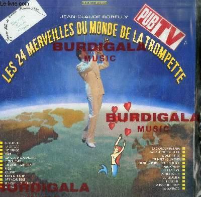 DISQUE VINYLE 33T LES 24 MERVEILLES DU MONDE DE LA TROMPETTE-ALBUM 2 DISQUES