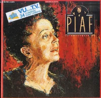 DISQUE VINYLE 33T PIAF 25E ANNIVERSAIRE-DOUBLE ALBUM