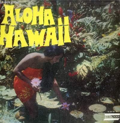 DISQUE VINYLE 33T ALOHA HAWAII