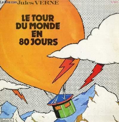DISQUE VINYLE 33T LE TOUR DU MONDE EN 80 JOURS-GRAND PRIX DU DISQUE-AQUADEMIE DU DISQUE FRANCAIS