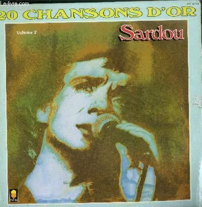 DISQUE VINYLE 33T 20 CHANSONS D'OR-ALBUM 2 DISQUES