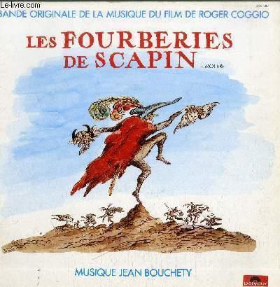 DISQUE VINYLE 33T LES FOURBERIES DE SCAPIN-BANDE ORIGINALE DE LA MUSIQUE DU FILM DE ROGER COGGIO