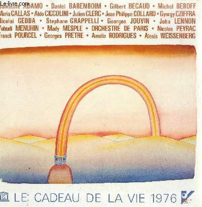 DISQUE VINYLE 33T LE CADEAU DE LA VIE 1976