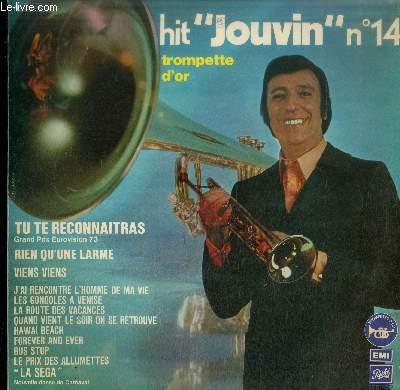 DISQUE VINYLE 33T : HOT JOUVIN N°14