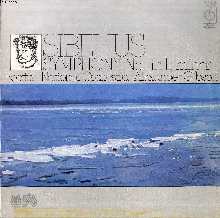 DISQUE VINYLE 33T : SYMPHONY N° 1 IN E MINOR, Op. 39
