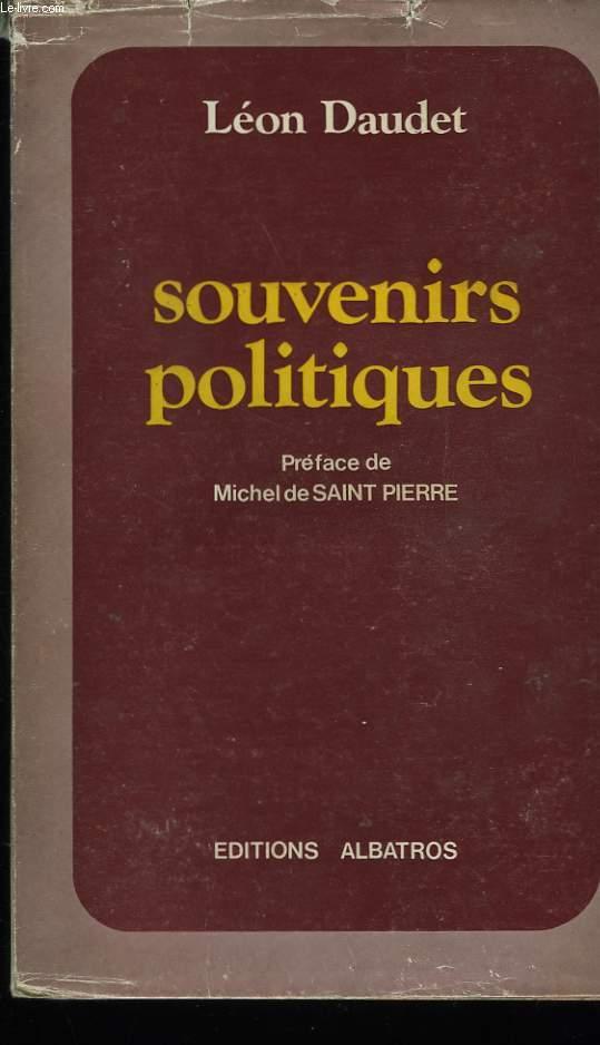 SOUVENIRS POLITIQUES.