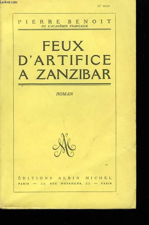 FEUX D'ARTIFICE A ZANZIBAR.