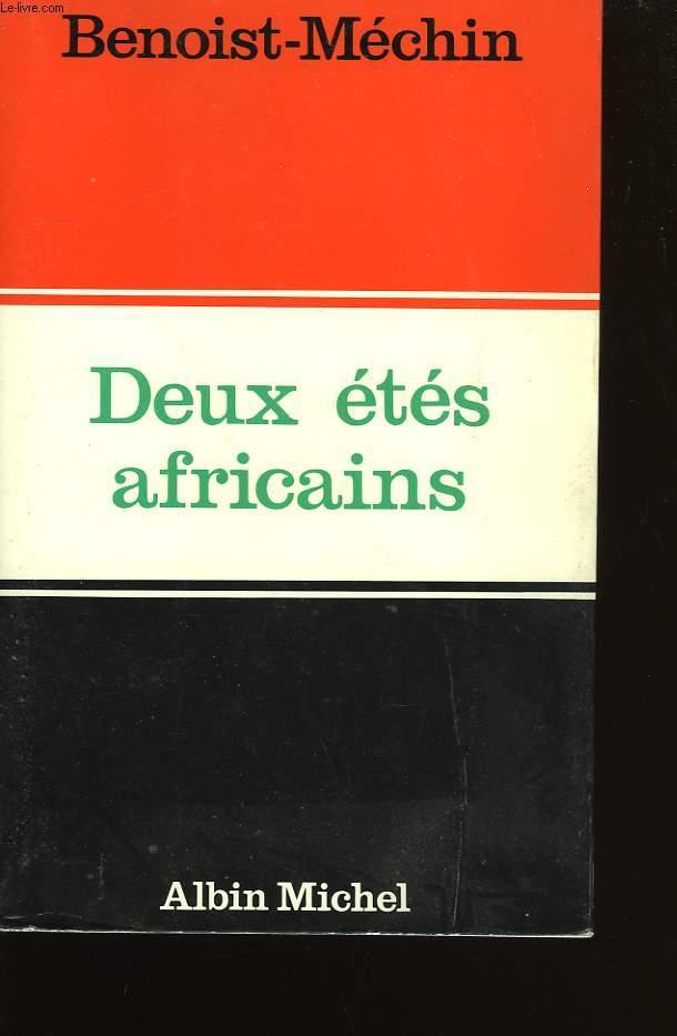 DEUX ETES AFRICAINS.