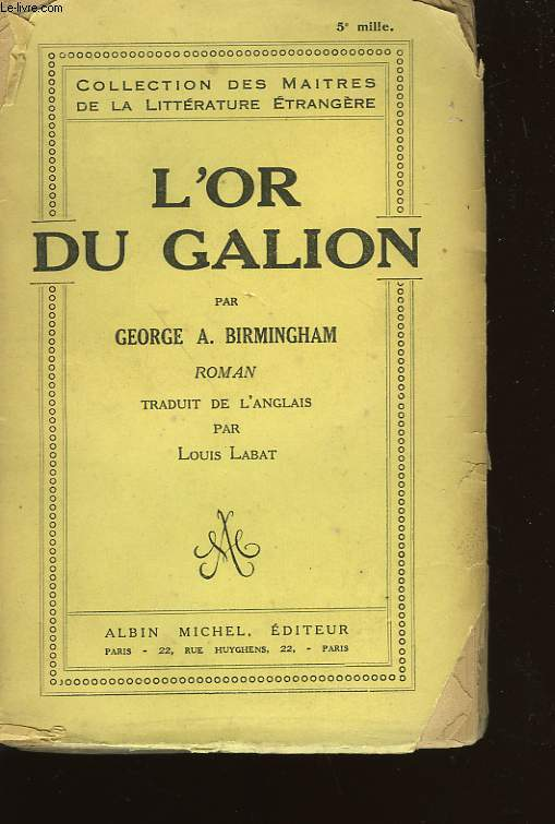 L'OR DU GALION.