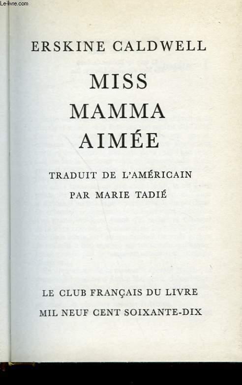 MISS MAMMA AIMEE.