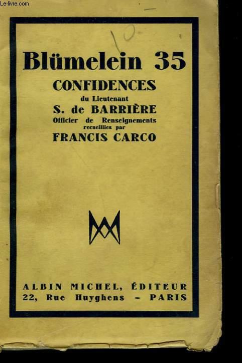 BLÜMELEIN 35.