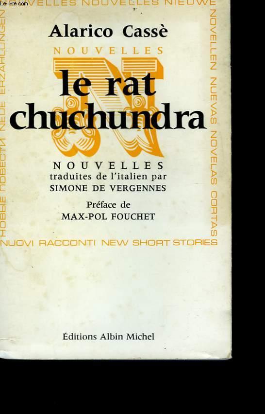 LE RAT CHUCHUNDRA.