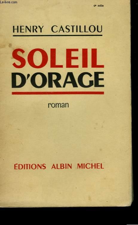 SOLEIL D'ORAGE.