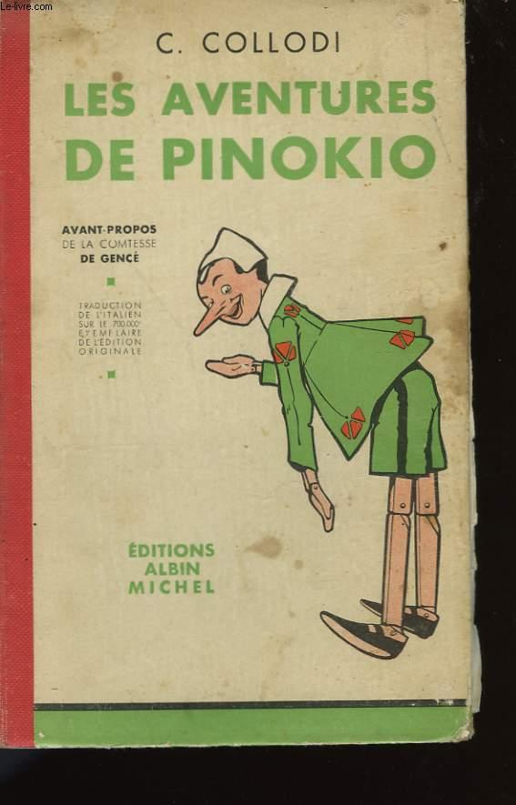 LES AVENTURES DE PINOKIO.