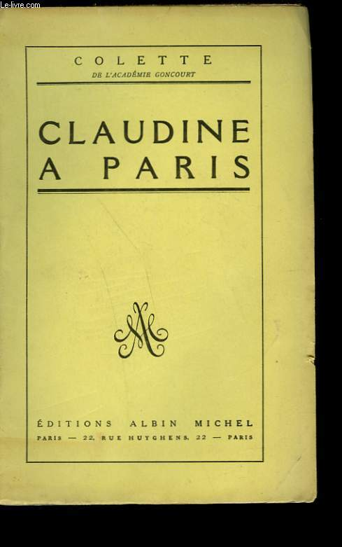 CLAUDINE A PARIS.