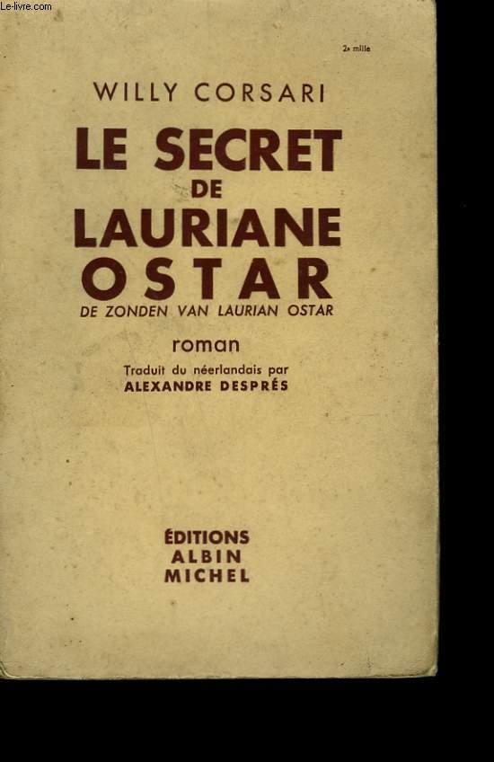 LE SECRET DE LAURIANNE OSTAR.