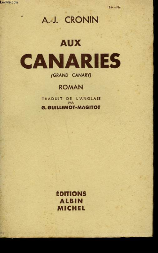 AUX CANARIES.
