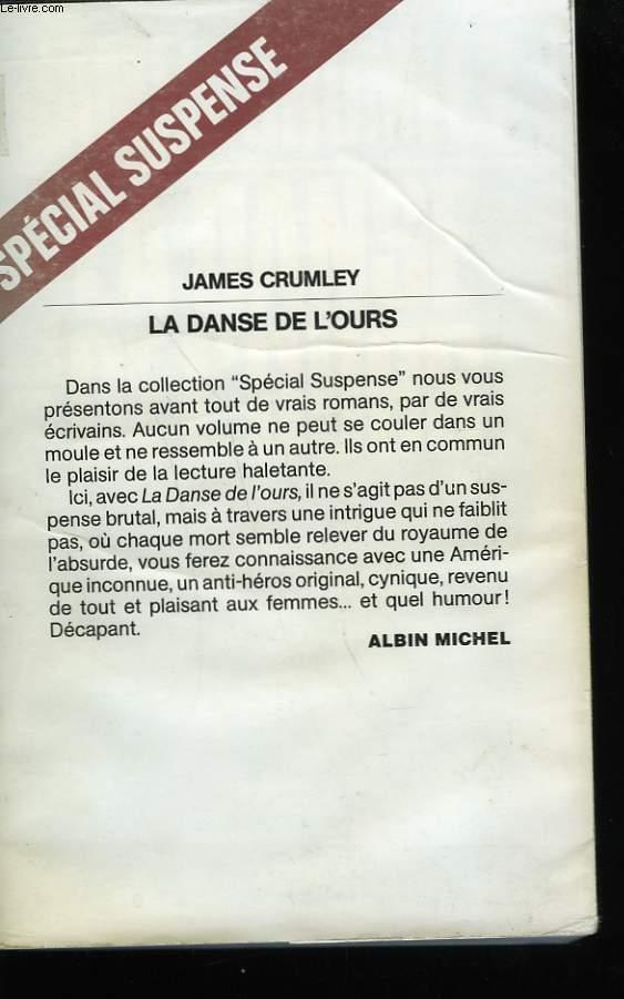 LA DANSE DE L'OURS.