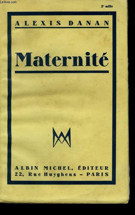 MATERNITE.