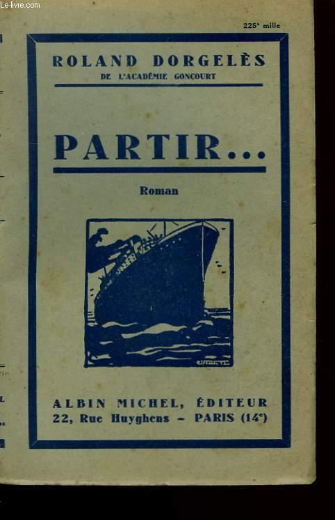 PARTIR ... .