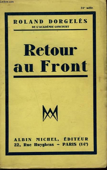 RETOUR AU FRONT.