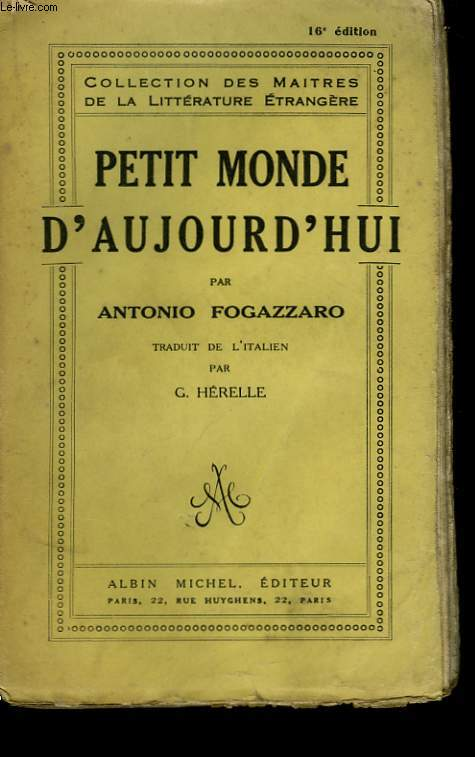 PETIT MONDE D'AUJOURD'HUI.