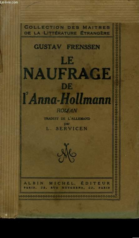 LE NAUFRAGE DE L'ANNA-HOLLMANN.