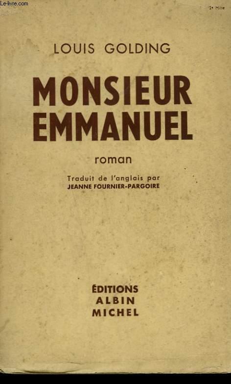 MONSIEUR EMMANUEL.