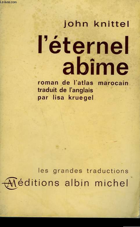 L'ETERNEL ABIME.