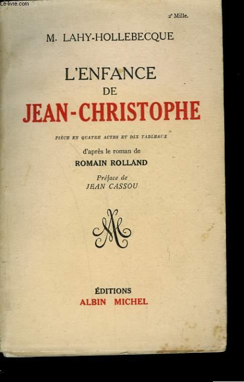 L'ENFANCE DE JEAN-CHRISTOPHE.