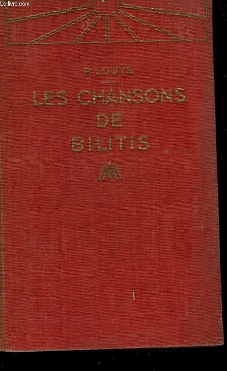LES CHANSONS DE BILITES.