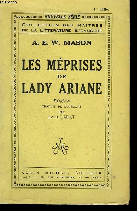 LES MEPRISES DE LADY ARIANE.