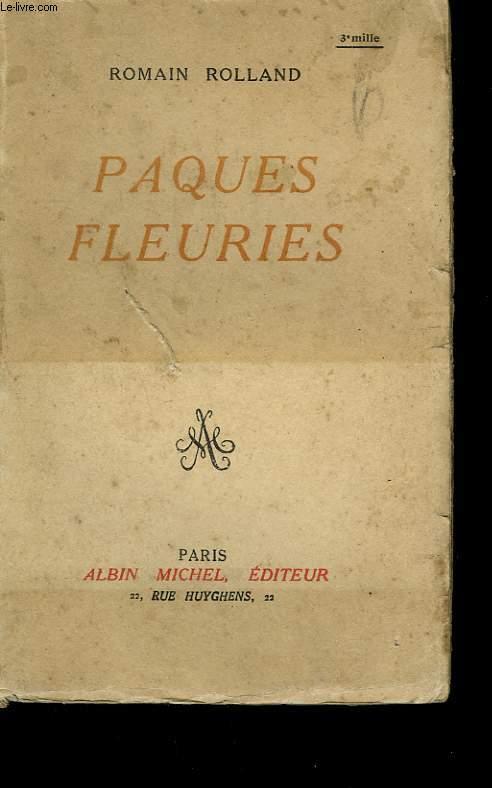 PAQUES FLEURIES.