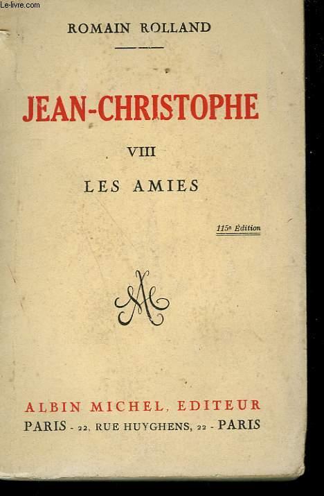 JEAN CHRISTOPHE. TOME 8 : LES AMIES.