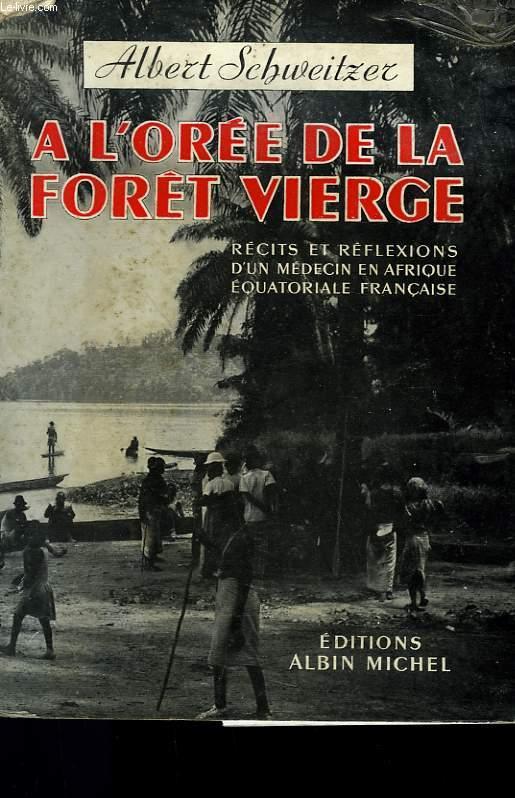 A L'OREE DE LA FORET VIERGE.