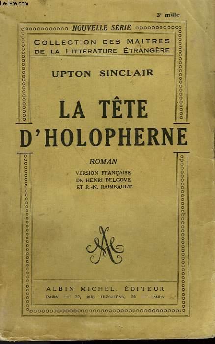 LA TETE D'HOLOPHERNE.