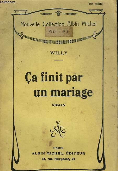 CA FINIT PAR UN MARIAGE.