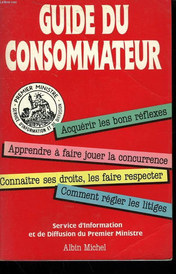 GUIDE DU CONSOMMATEUR.