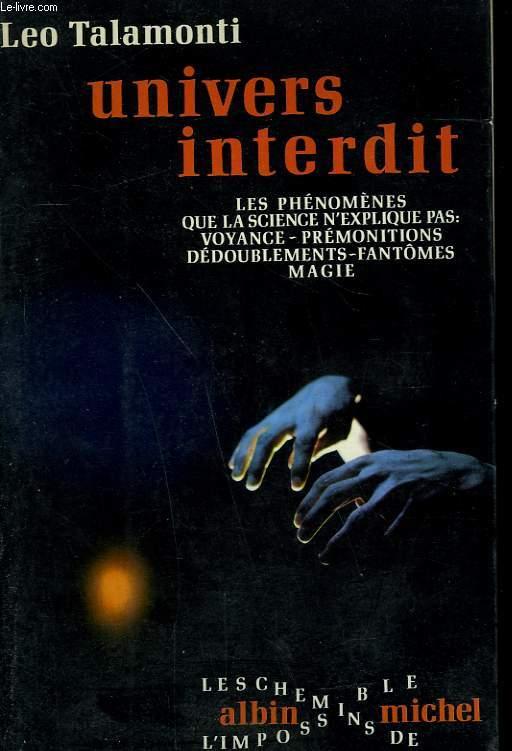 UNIVERS INTERDIT.